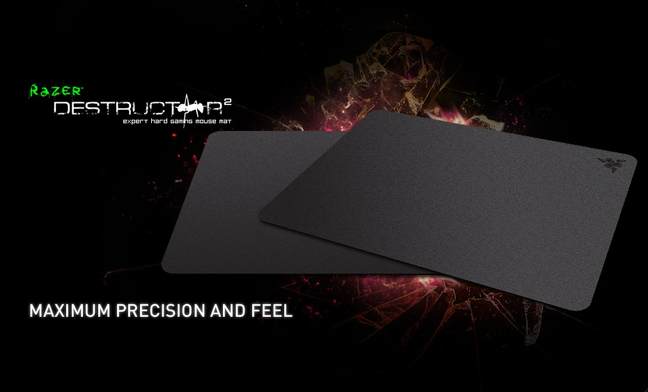 RAZER DESTRUCTOR 2 GAMING MOUSE PAD (RZ02-00200400-R3M1)