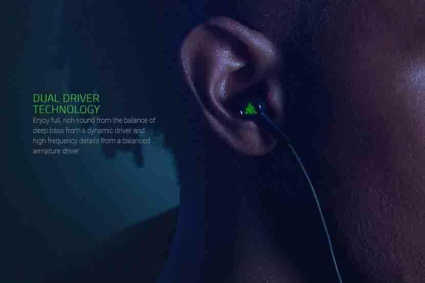 Razer Hammerhead USB-C ANC In-Ears Headphone - RZ12-02780100-R3M1