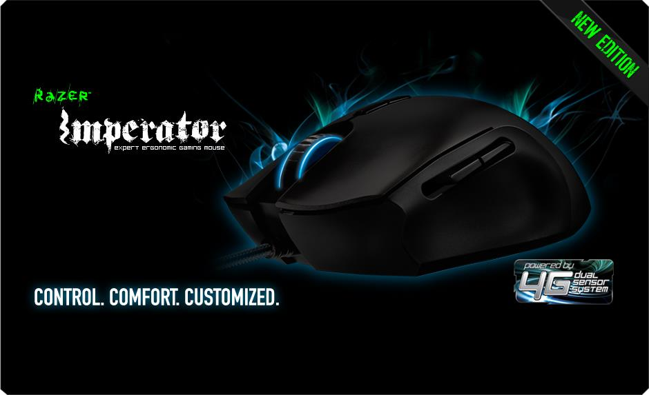 Razer Imperator Gaming Mouse - RZ01-00350200-R3A1