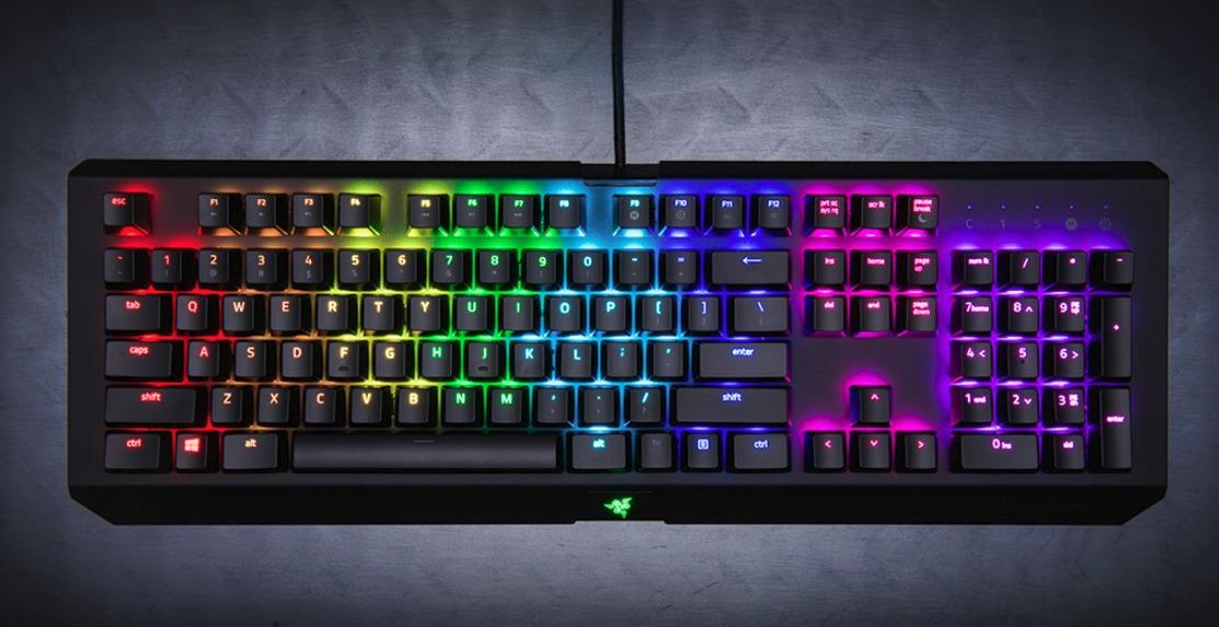 RAZER Keyboard BLACKWIDOW X CHROMA (RZ03-01762100-R3M1) GUN METAL