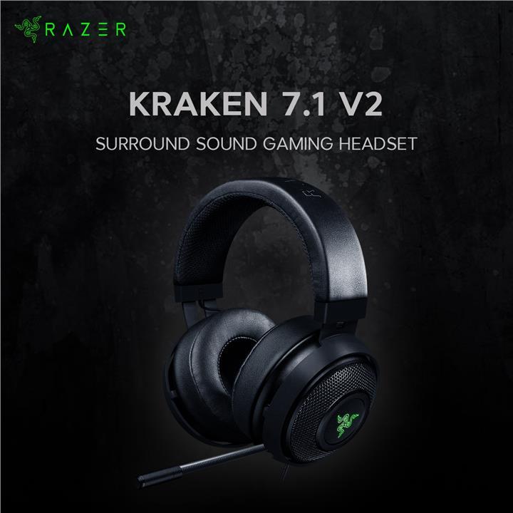 f76a9168939 Razer Kraken 7.1 V2 Digital Gaming H (end 8/18/2018 5:15 PM)