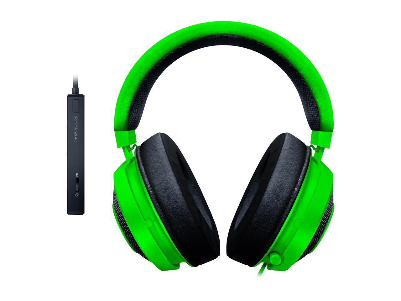 Razer Kraken Tournament Edition Gaming Headset THX Spatial Audio-Green