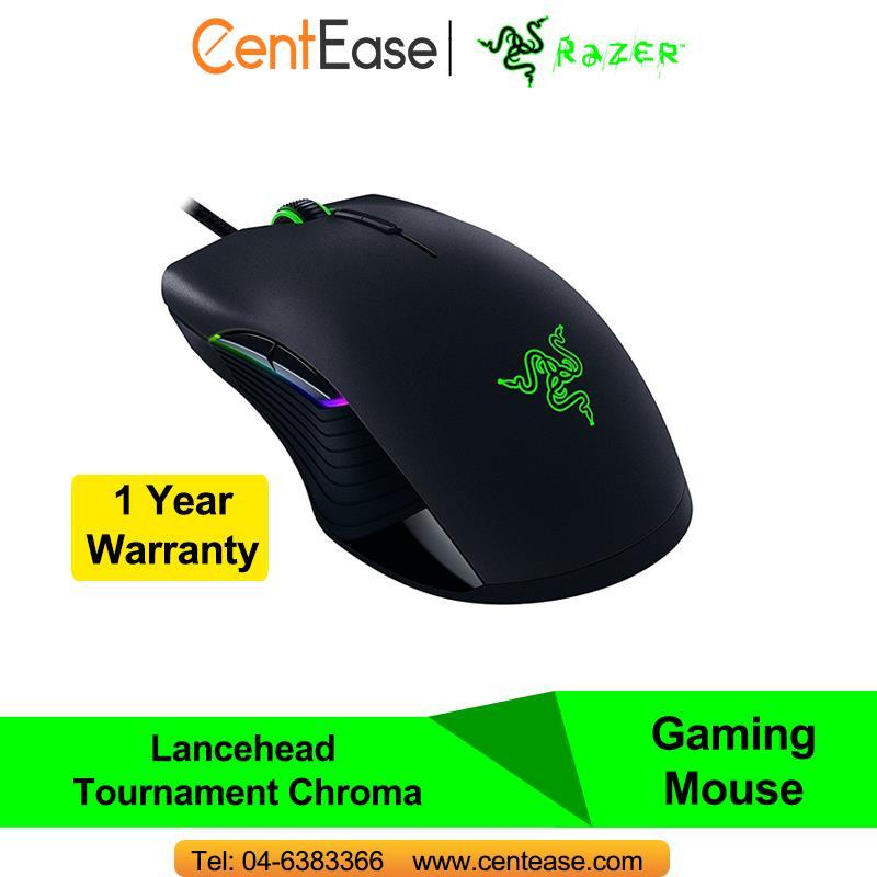 Razer Lancehead Tournament Chroma Gaming Optical Wired Mouse 16000dpi 5G Mech