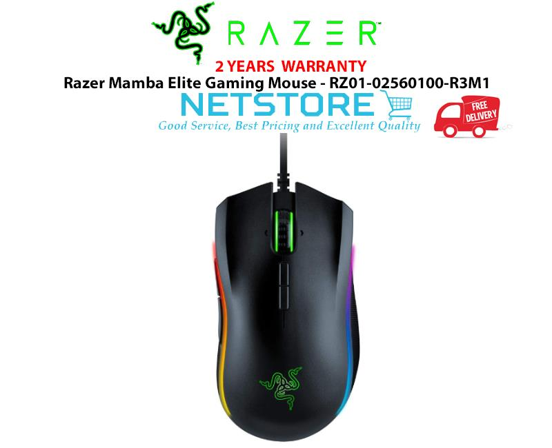 33c24c003ad Razer Mamba Elite Gaming Mouse 5G True 16,000 DPI - RZ01-02560100-R3M1. ‹ ›