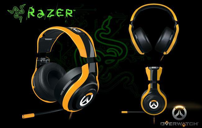 Razer Man O War Tournament Overwatch Edition Headset