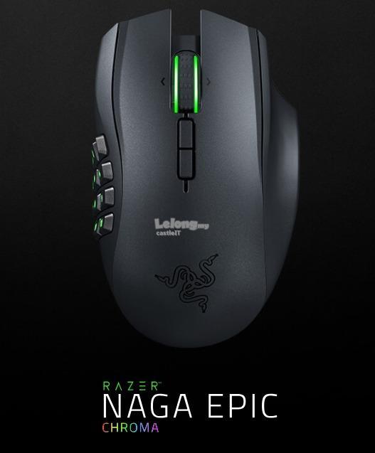 22dce147ffa RAZER Mouse Wireless LASER NAGA EPIC CHROMA (RZ01-01230100-R3A1)