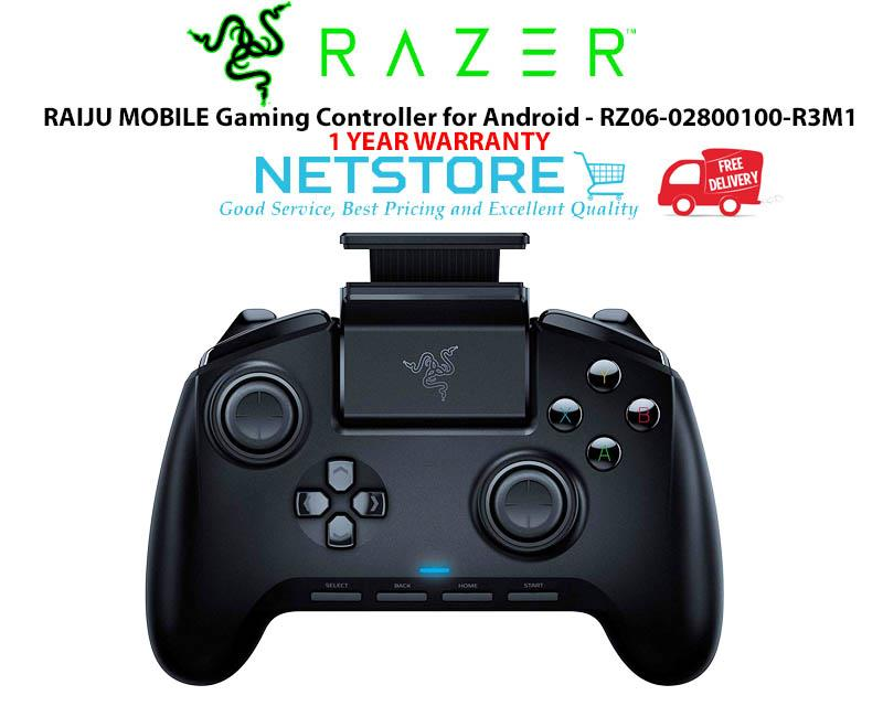 Razer RAIJU MOBILE Gaming Controller for Android - RZ06-02800100-R3M1