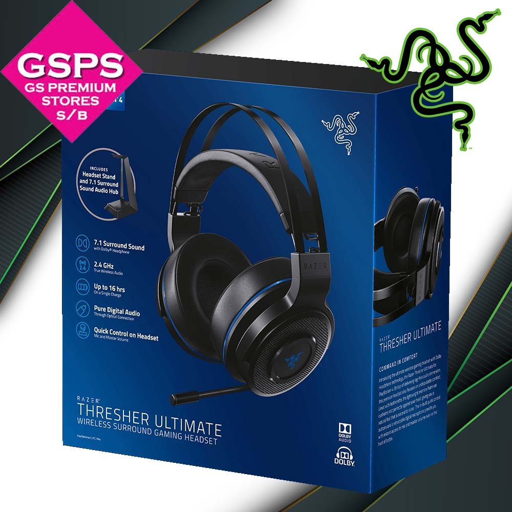 Razer Thresher Ultimate Wireless for PS4 (RZ04-01590100-R3A1)