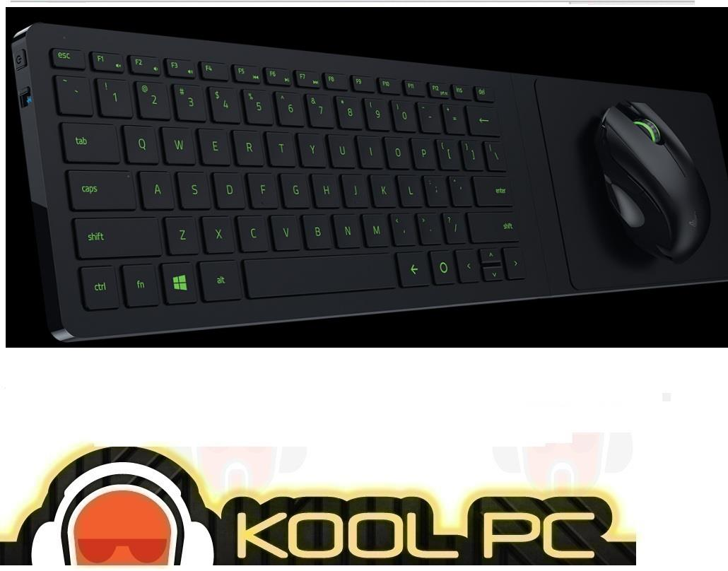 * Razer Turret Living Room Gaming mouse and lapboard