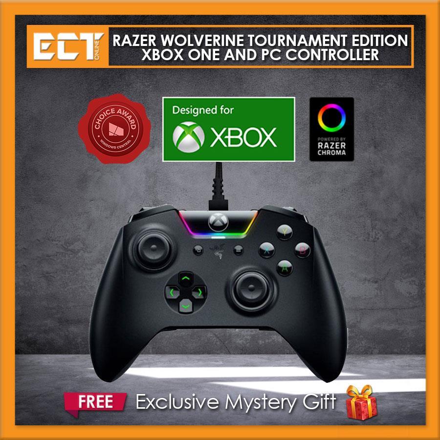 Razer Wolverine Tournament Edition Xbox One and PC Controller