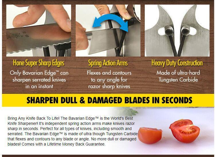 Razor Advanced Sharp Knives In Seconds 2 Independent Spring Action