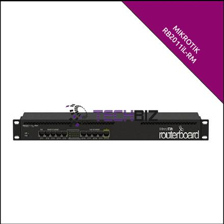 RB2011iL-RM Mikrotik 10-Port Ethernet Router
