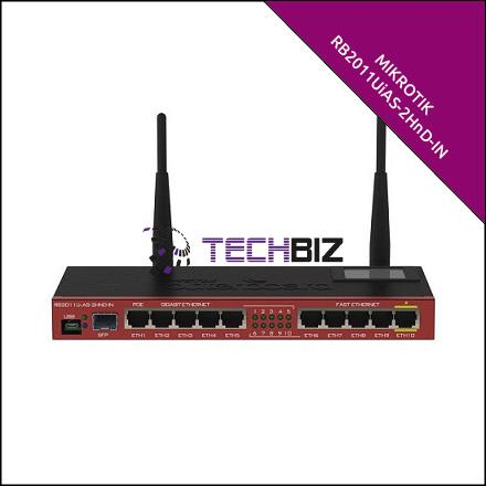 RB2011UiAS-2HnD-IN Mikrotik 11-Port Gigabit Router WiFi
