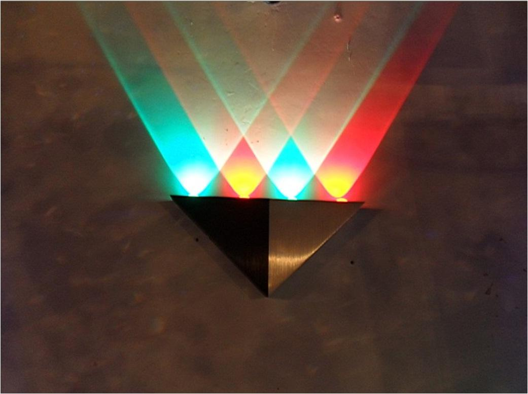 RBG Mix Color Rainbow Quality Home Decoration LED Wall Light Bulb Lamp