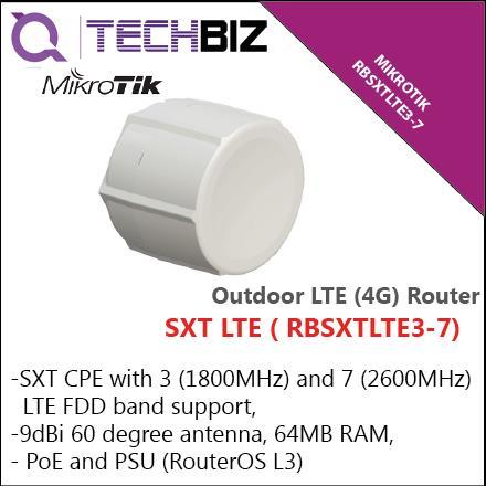 RBSXTLTE3-7 Mikrotik SXT LTE Outdoor Wifi