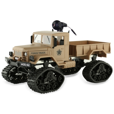 RC Car Brushed Off-road Truck Snow Tires with Front Light