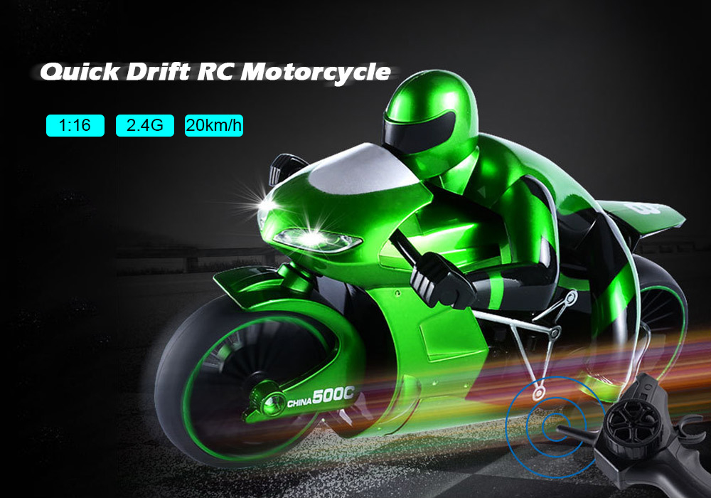 Rc Cars - Rc Motorcycle ( Battery Included ) - Csrc - 22 1/16 Motorcyc..