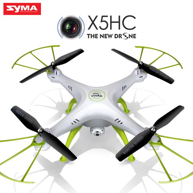 RC Remote Control X5HC Quadcopter 6-Axis Gyro  Syma Camera Drone