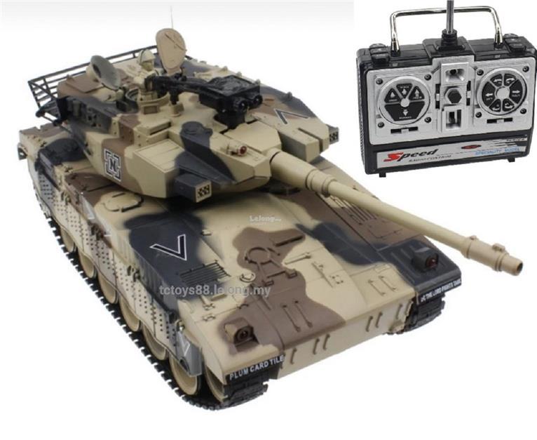 RC Tank Large Scale 1/16 Remote Control Battle Tank 1/20 M4101A BB Gun