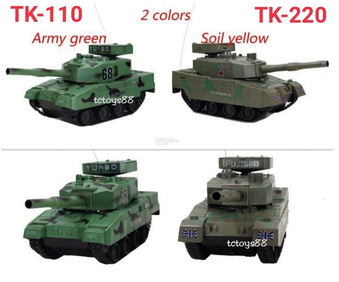 RC TANK REMOTE CONTROL BATTLE TANK SHOT BB BULLET TANK ARMY COMBAT TOY
