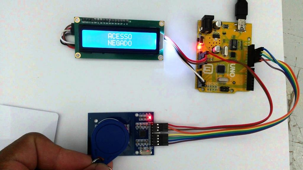 RC522 RFID Module for Arduino -RFID Reader,Card, Keychain, Header Pin