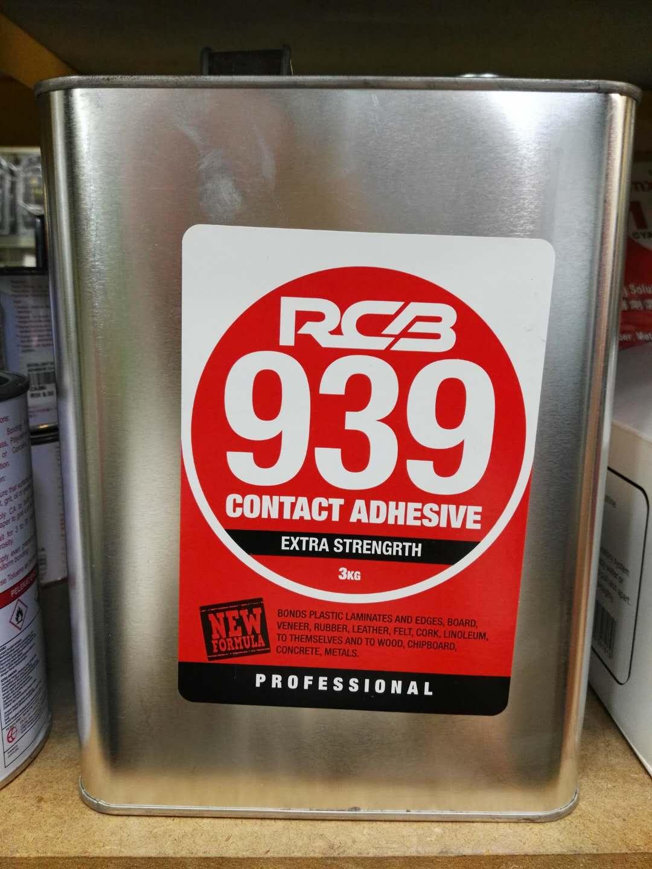 RCB CONTACT ADHESIVE CA GLUE 3KG 393