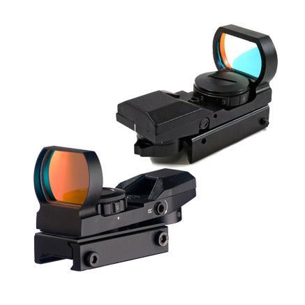 RD400 Tactical 4 Reticles Electro Green / Red Dot Sight Scope