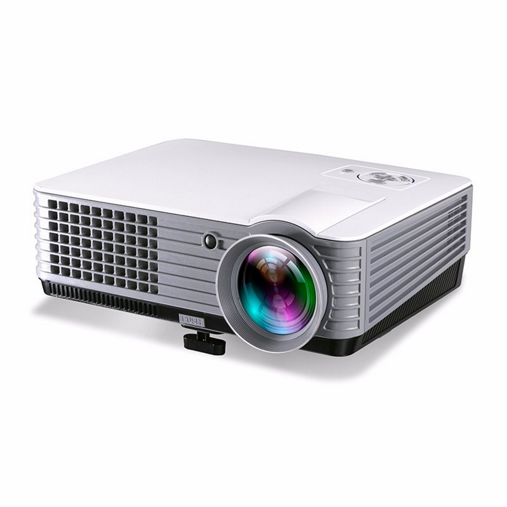 RD801 Full HD LED LCD Red Blue 3D Projector Home Theater HDMI 2000 Lum..