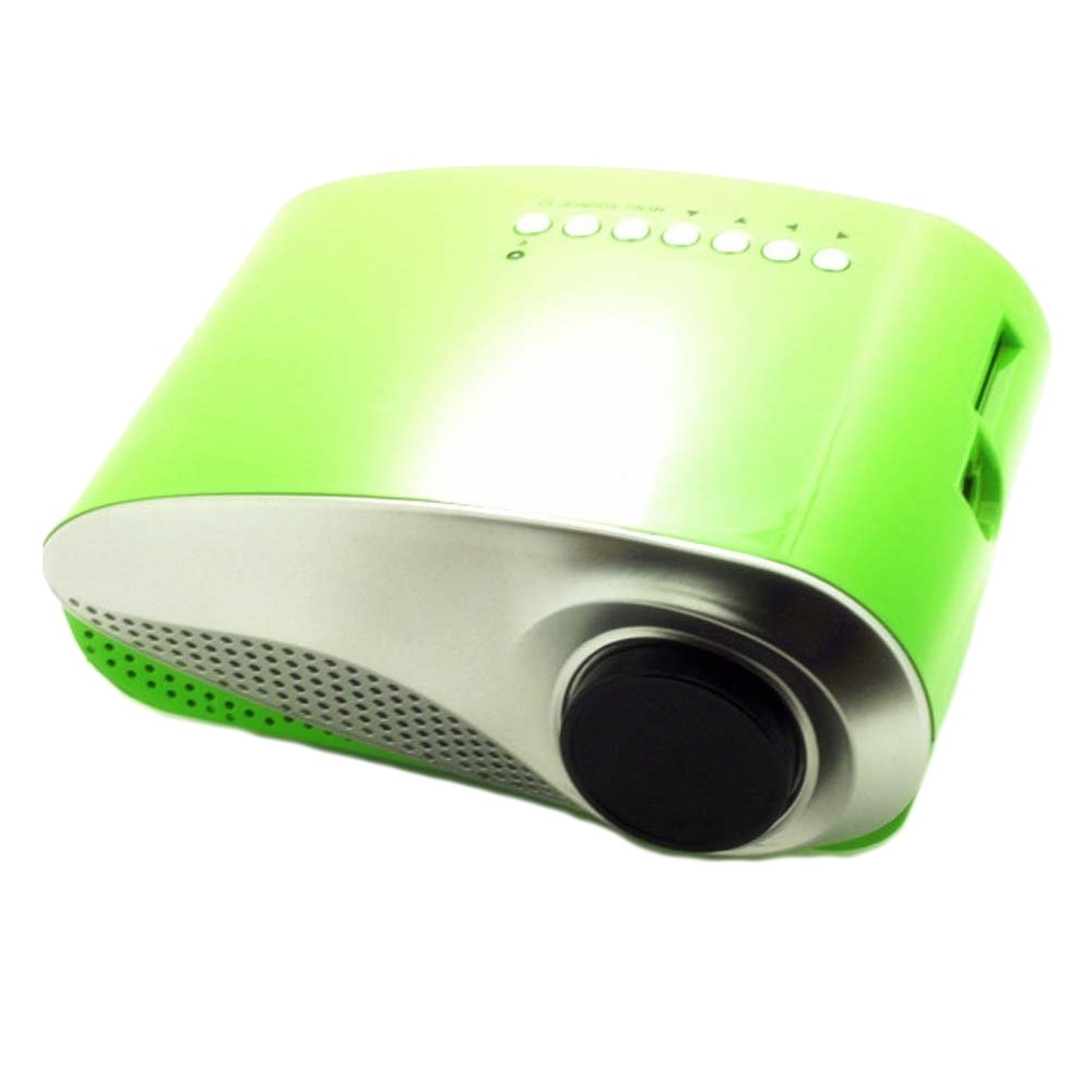 RD802 Green LED LCD Projector Home Theater HDMI 60 Lumens