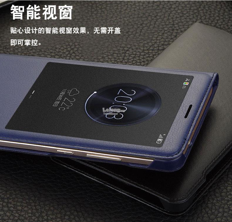 wholesale dealer b73b7 eefad Rdystk! Huawei Mate 9 8 7 Honor 5X 6X Smart View leather flip case