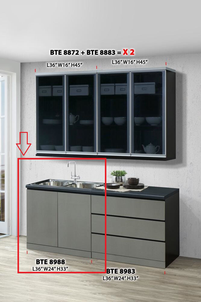 Ready Fixed 3 Feet Kitchen Cabinet End 5 16 2021 12 00 Am