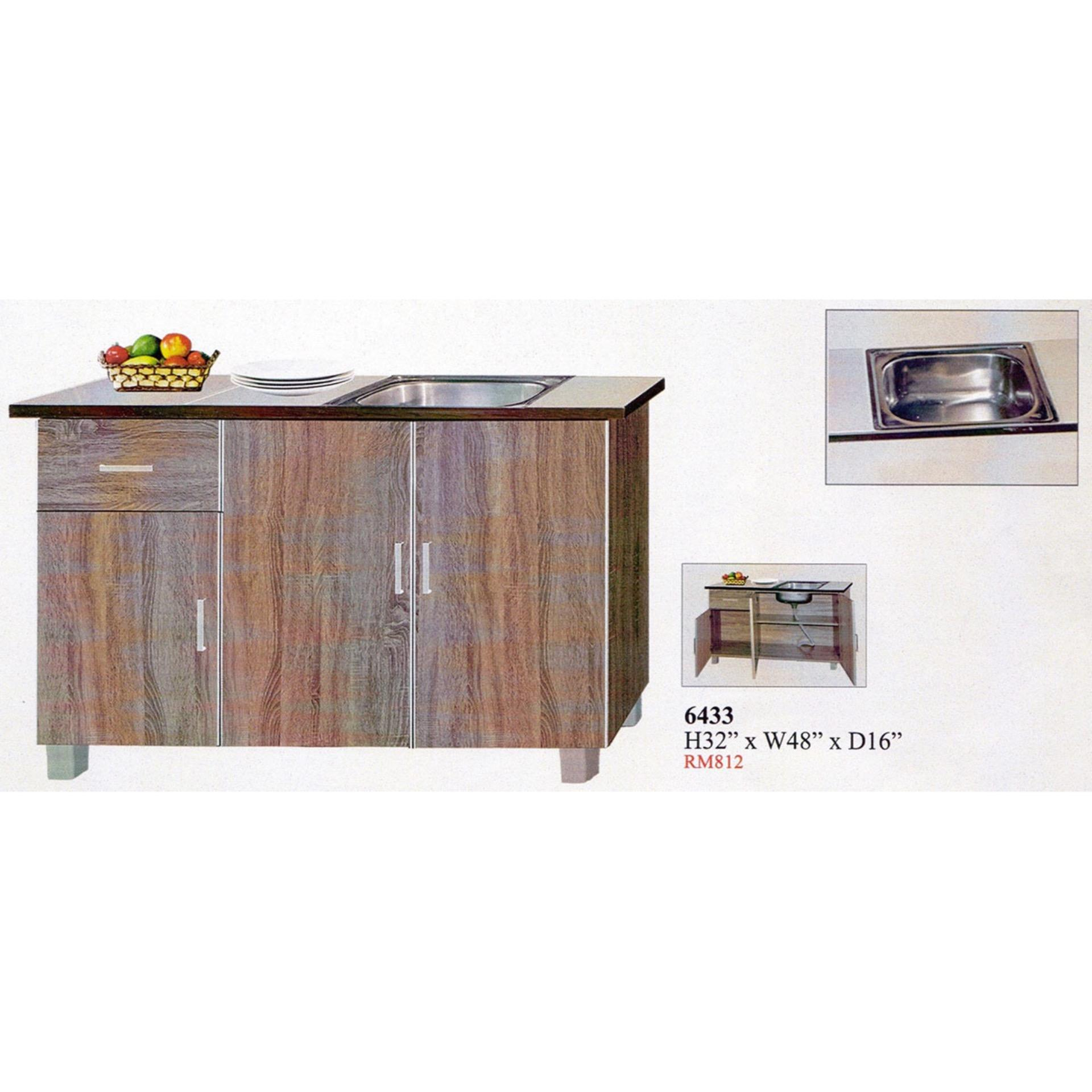 Ready-Fixed 4-Feet Kitchen Cabinet (end 4/30/2021 12:00 AM)