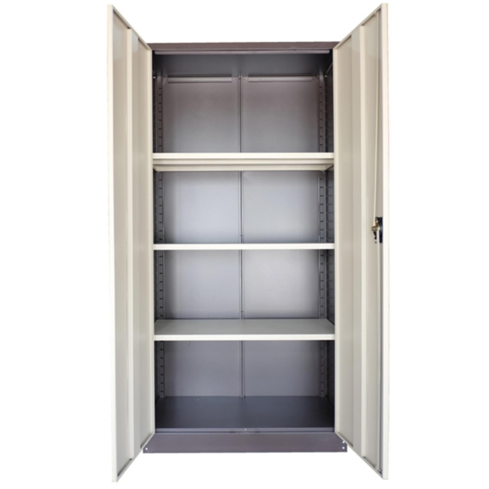 Ready fixed deco home office furniture durable 2 doorstorage cabinet