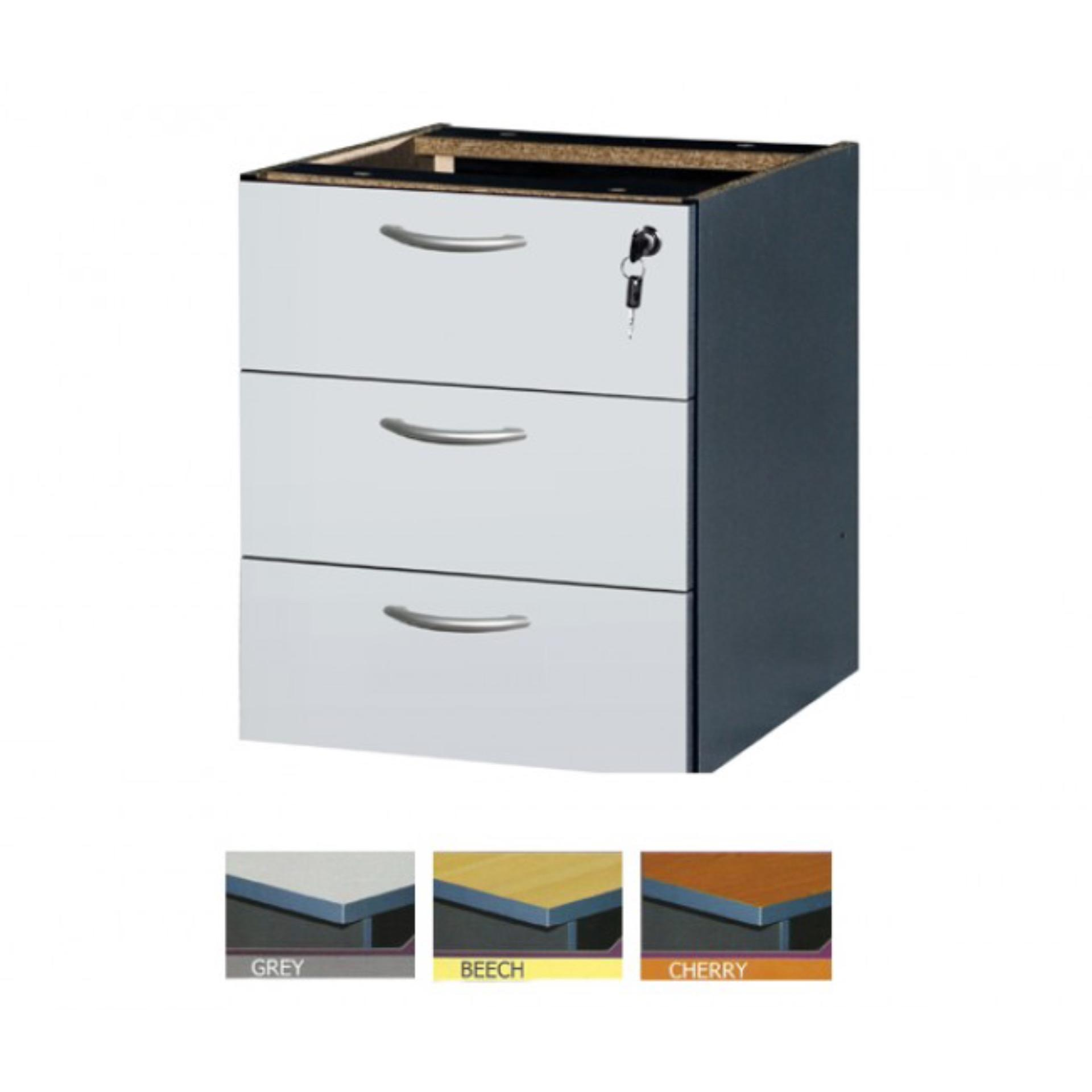 Ready-Fixed Office Table 3-Tier Dra (end 4/30/2021 12:00 AM