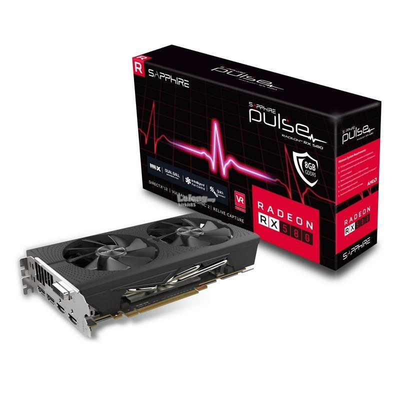 READY LIMITED STOCK ~ Sapphire Pulse Radeon RX580 RX 580 Graphic Card