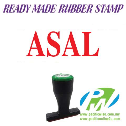 Ready-Made Rubber Stamp (Asal)