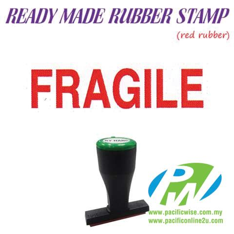 Ready-Made Rubber Stamp (Fragile)