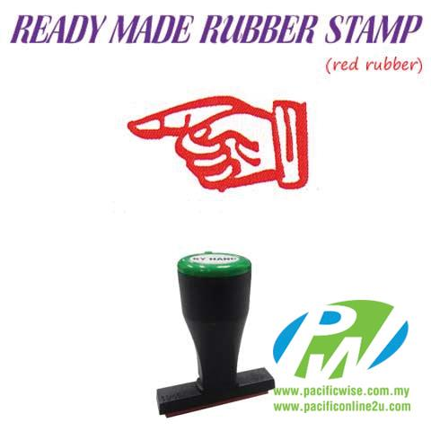 Ready-Made Rubber Stamp (HAND-E36)