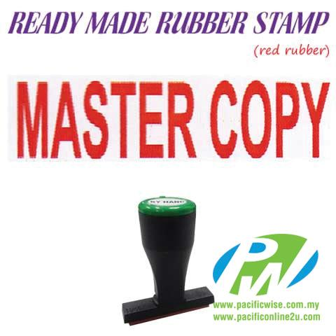 Ready-Made Rubber Stamp (Master Copy)