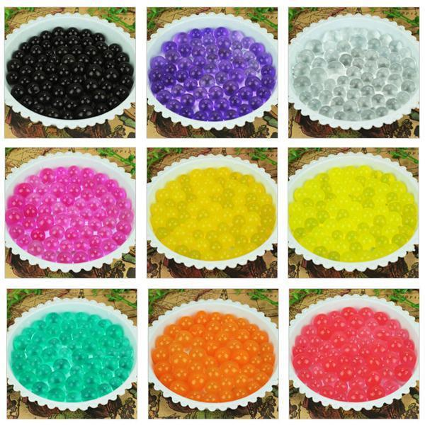 READY SOAK Pearl Shaped Polymer Crystal Soil Water Beads Mud Jelly Gel