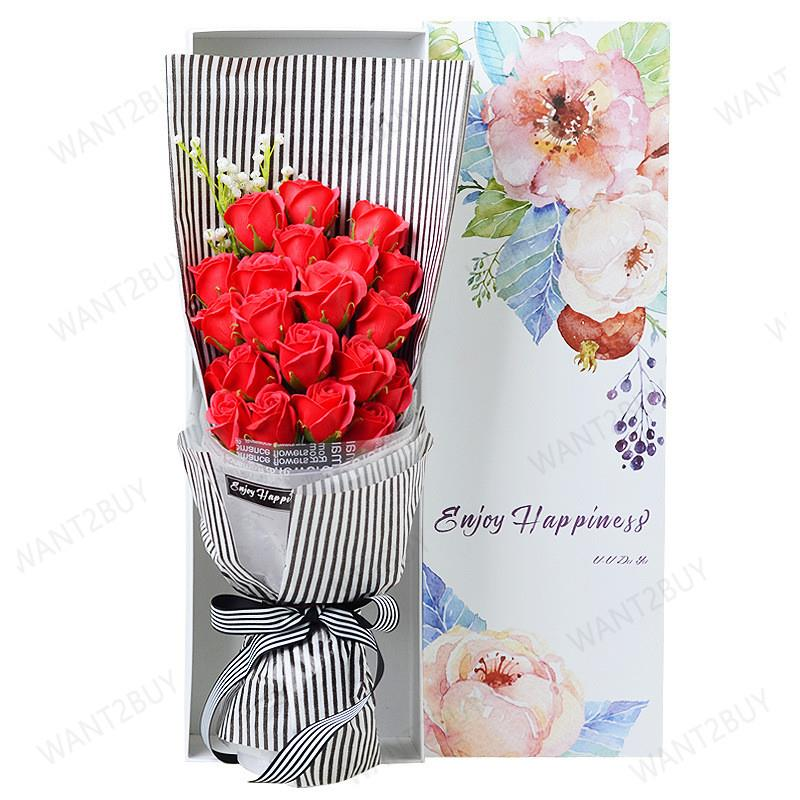Ready Stock 19 Red Roses Flower S End 11 15 2019 4 15 Pm