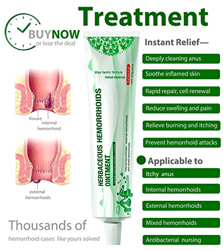 [ready stock] 2PCS Included-Hemorrhoid Treatment Cream, Fissure Ointment, Fast