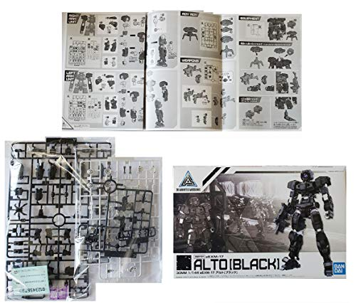 [ready stock] 3 Bandai Spirits 1/144 Scale, 30mm Alto Sets – Black Option Ar