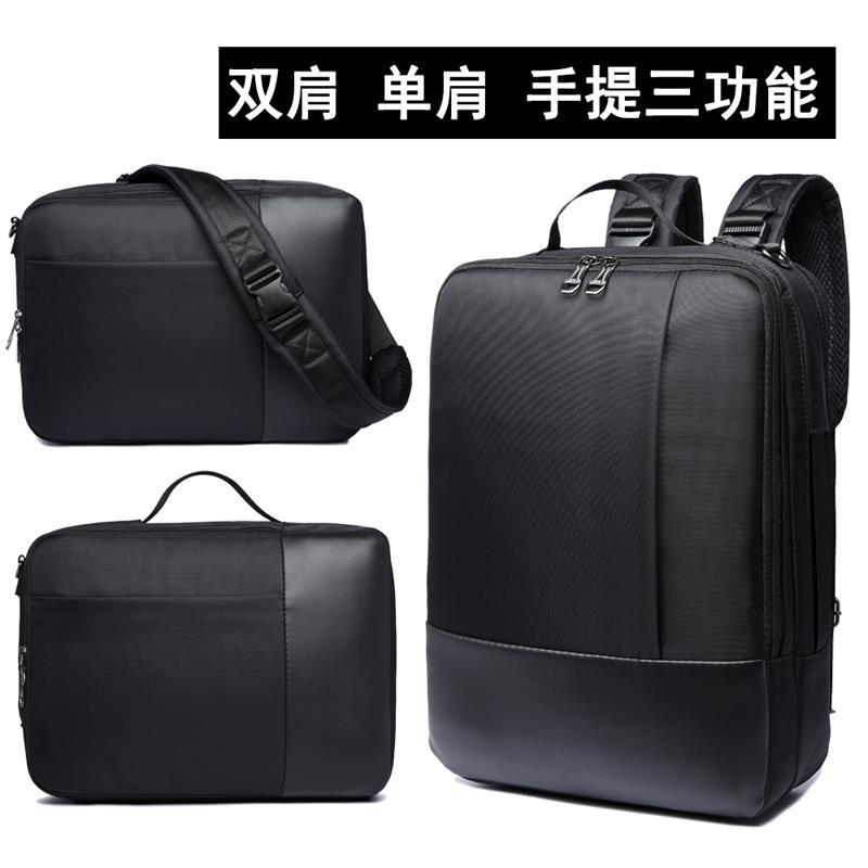 d8f5610edca Ready stock 3 ways antishock laptop backpack bag sling bag handbag. ‹ ›