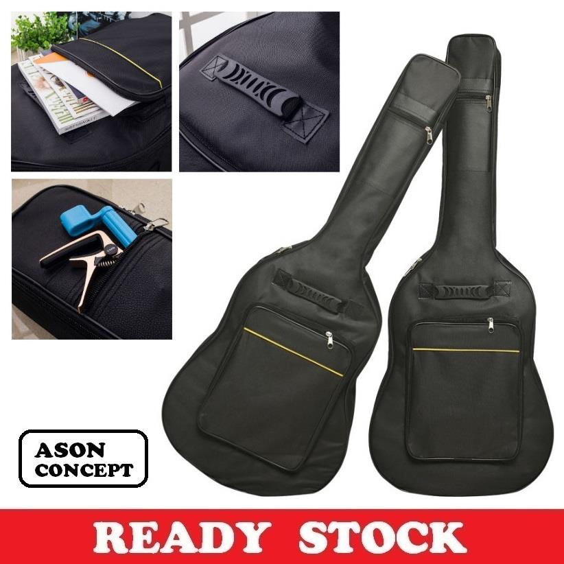 READY STOCK 41 INCH PADDED ACOUSTIC GUITAR BAG GB001