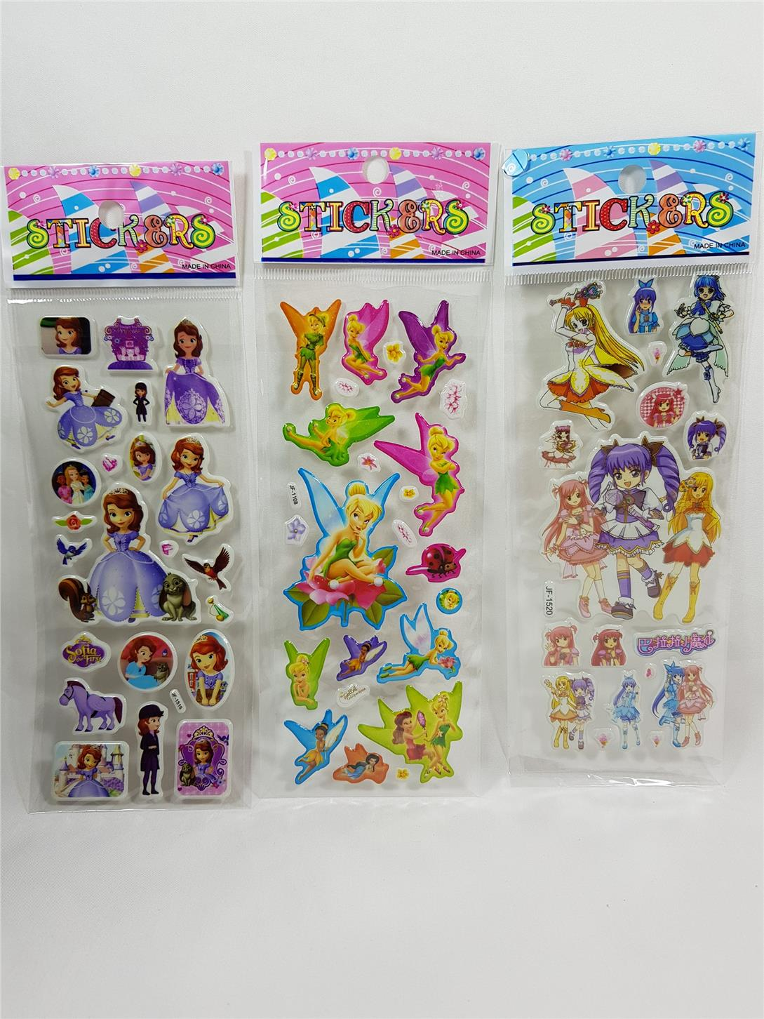 (Ready Stock) 50 Pieces Stickers #543