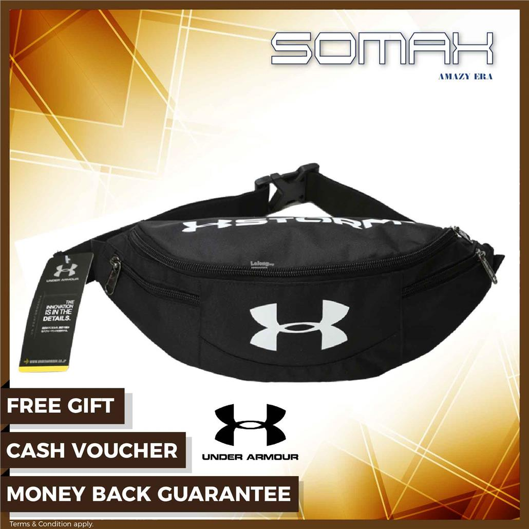 068f3605995 [ Ready Stock ] Under Armour Crossbody Fashion Bag Unisex Polyester -