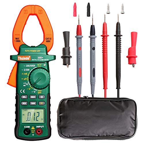 [ready stock] Autoranging Multimeters Clamp Meter With Storage Bag AC/DC Volt