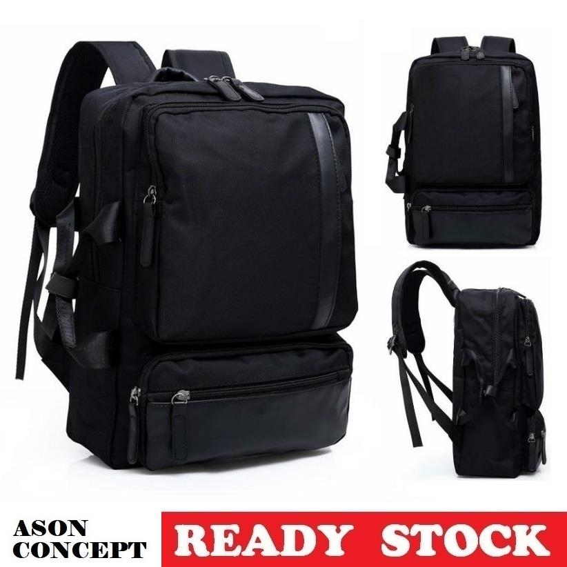 READY STOCK backpack laptop bag 005