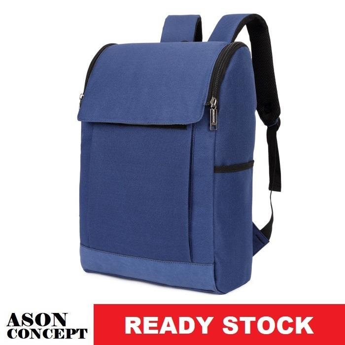 READY STOCK backpack school bag 065 (BLUE)
